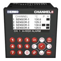 Bộ điều nhiệt độ khiển đa kênh (8 Kênh)