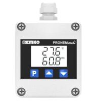 Cảm biến nhiệt độ độ ẩm Pronem Midi LCD (Duct Type)
